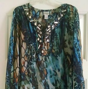 Chico's Tunic/Cover-up